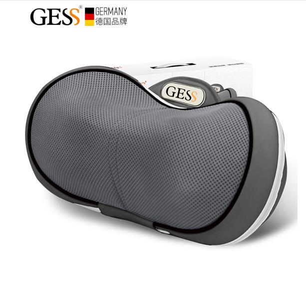 GESS 德国品牌 肩部颈椎按摩器 颈椎按摩枕 按摩器 颈部 腰部 肩部靠枕 GESS130