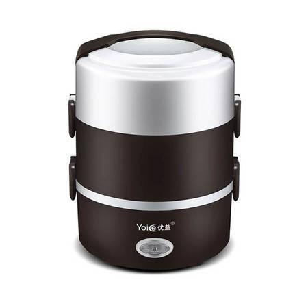 优益/YOICE 保温饭盒蒸饭电热饭盒三层便当盒插电保温蒸饭器Y-DFH3