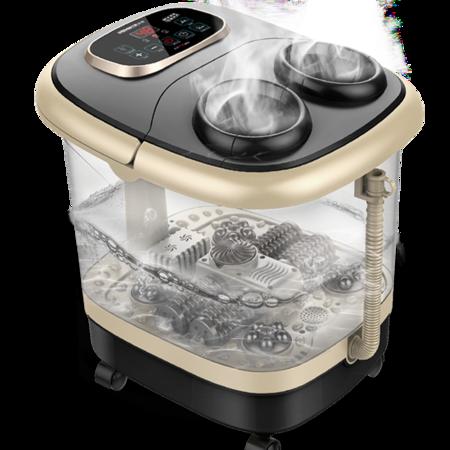 港德 全自动加热足浴盆电动洗脚盆电动按摩深桶熏蒸泡器RD-863
