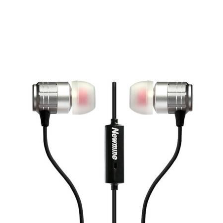 纽曼 金属通用入耳式手机线控耳机NM-JK12
