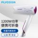飞科/FLYCO 电吹风机 家用吹风机小功率冷热风静音学生宿舍风筒FH6257