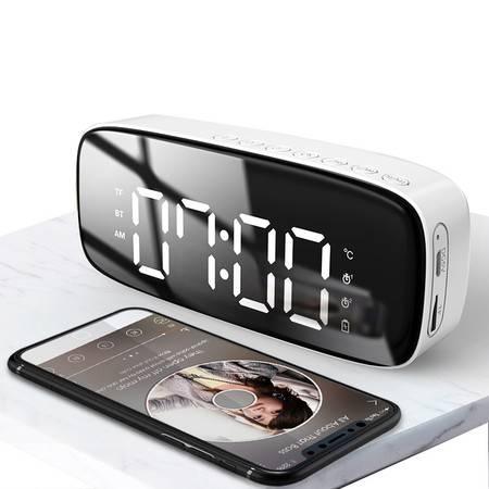 纽曼   无线蓝牙音箱双闹钟带时钟温度显示FM收音机插卡音箱 BT38