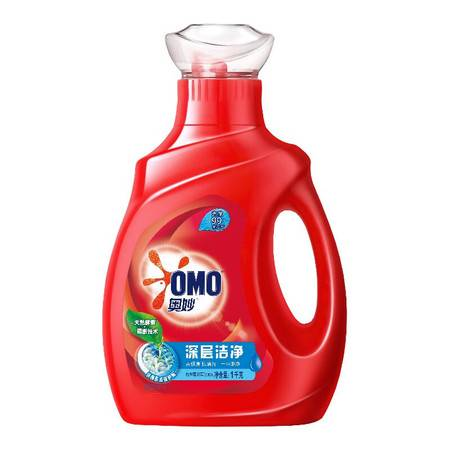 奥妙 洗衣液家庭护理抑菌去渍净白深层洁净1kg