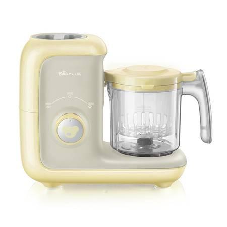 小熊SJJ-D03V5婴儿辅食机蒸煮一体多功能宝宝辅食工具研磨器家用搅拌料理机