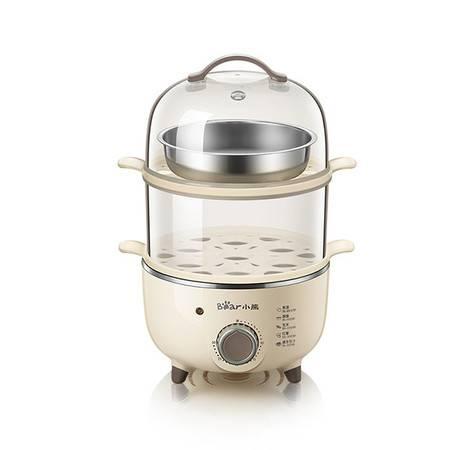 Bear/小熊ZDQ-B14R1煮蛋器家用双层定时蒸蛋器小型蒸蛋羹早餐神器