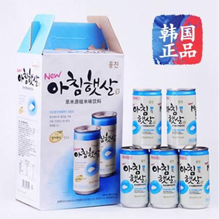 熊津晨之露玄米汁韩国进口果汁饮料 180ml*15听装