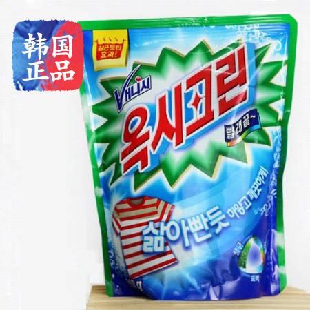韩国正品进口玉西彩漂粉漂白剂去污抗菌漂白粉越洗越艳丽1000克