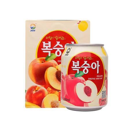韩国进口 九日果肉饮料12听/礼盒装