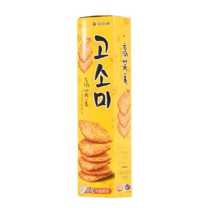 韩国进口食品好丽友高笑美饼干芝麻薄脆办公室休闲小零食70g