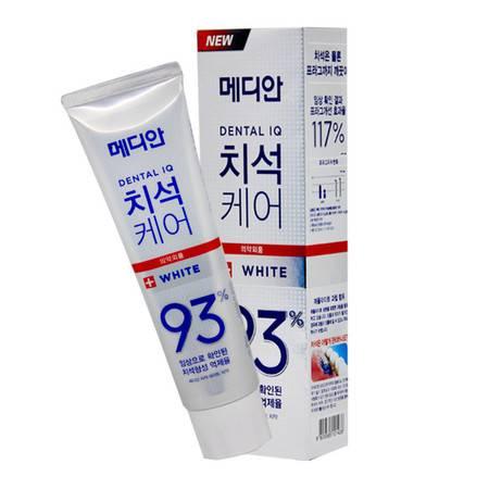 韩国牙膏 爱茉莉麦迪安93%牙膏 强效去牙石专用去渍美白牙膏 正品