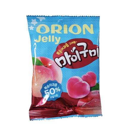 韩国进口好丽友qq水果味软糖67g/66g装儿童休闲零食橡皮糖酸甜糖