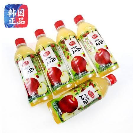 韩国原装进口饮料 海太清晨苹果汁饮料 苹果饮料 500ml