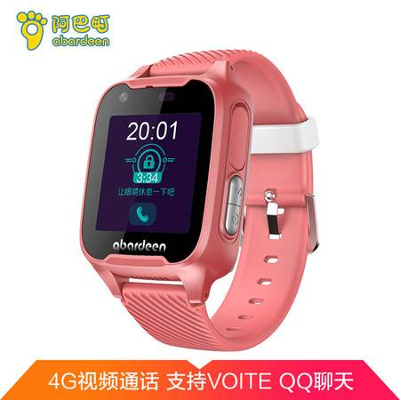 阿巴町( abardeen )V328 儿童手表手表 4G视频通话防水拍照定位智能通话手表手机男女孩