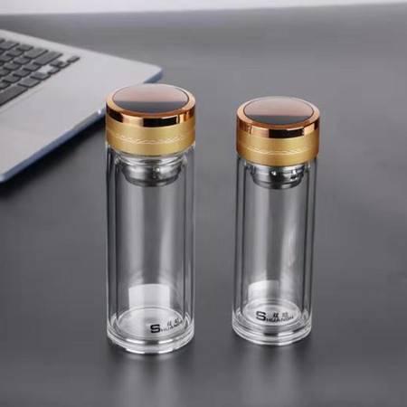 【嵩县金融积分兑换】双晗 SH-5380 300ml 优质高硼硅水晶玻璃杯(邮乐购网点配送)