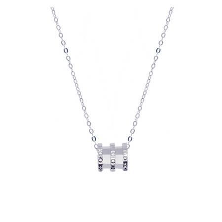 ARMASA/阿玛莎 S925银小蛮腰项链锁骨链时尚新款流行送女友闺蜜