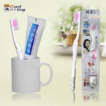 【直供星盟】宾王B607创意时尚型牙刷 12支装