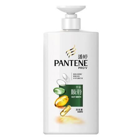 潘婷(PANTENE) 丝质顺滑洗发露750ml(新旧包装随机发货)