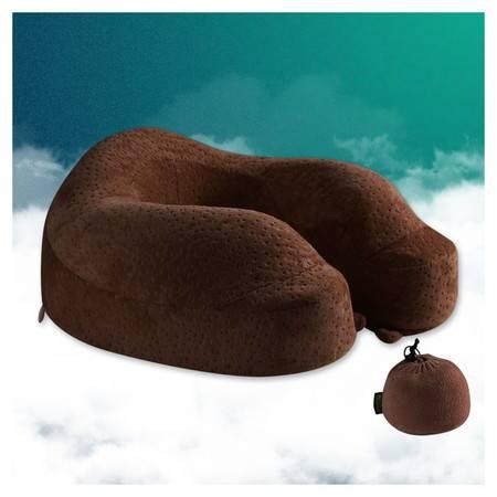 暖舒舒 6S收缩款 颜色随机  护颈枕u枕记忆枕U形颈椎枕飞机旅行午休枕