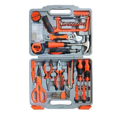 奥派克APK-8901家用工具组套装汽车应急工具箱80件套组合工具