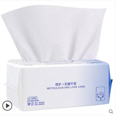 李佳埼洗脸巾女纯棉一次性洗面擦脸洁面巾纸美容无菌抽取式琦