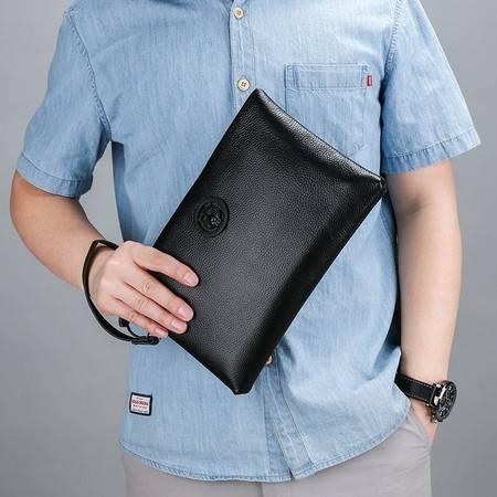 迪阿伦 手包男潮流大容量夹包社会手抓包软皮休闲韩版信封钱包男士手拿包