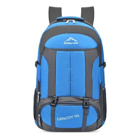 迪阿伦 运动双肩包男大容量女旅行李背包旅游学生书包登山包户外包