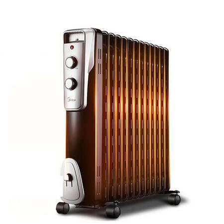 美的/MIDEA 13片电热油汀家用取暖器油丁省电暖器 NY2513-16J1W