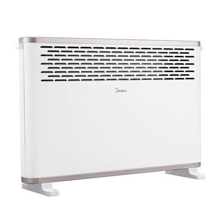 美的/MIDEA  取暖器电暖器浴室家用节能省电非油汀欧式快热炉 白 HDY20K