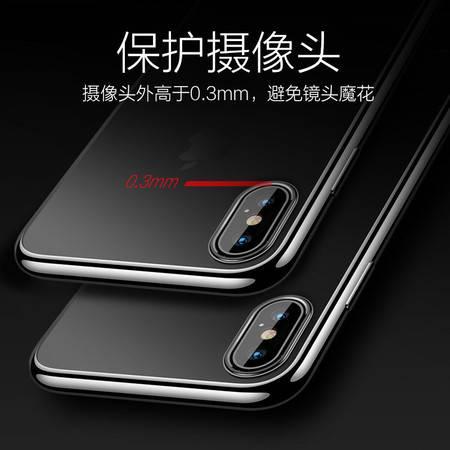 苹果x手机壳iPhone11Pro Max透明xr硅胶xs max/7/8/plus/6/6s防摔i