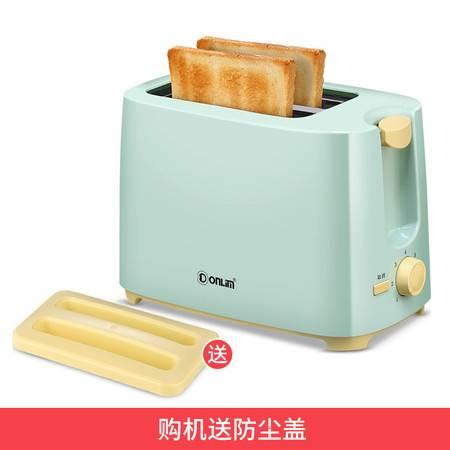 Donlim/东菱 TA-8600烤面包机家用早餐吐司机2片迷你全自动多士炉