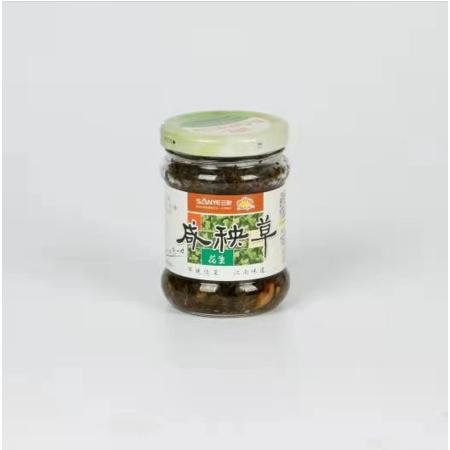 三叶咸秧草180g/瓶 咸菜 下饭 长江边的江南野菜