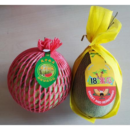 【同城配送水果套餐1】西瓜1个(约4斤)+哈密瓜1个(约3斤)