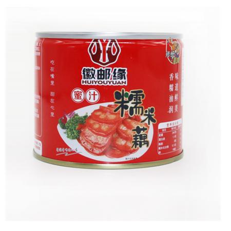 蜜汁糯米藕