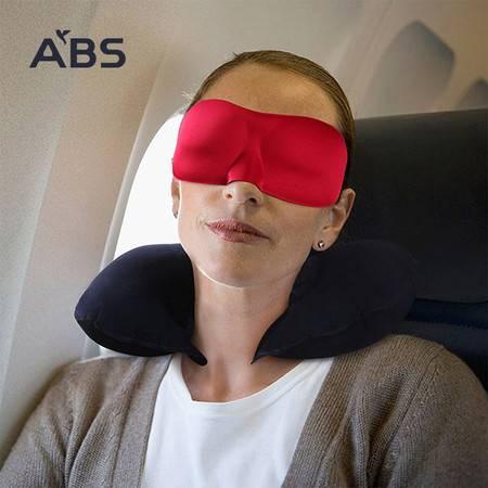 ABS爱彼此 零压感3D睡眠眼罩 男女通用舒适遮光透气眼罩