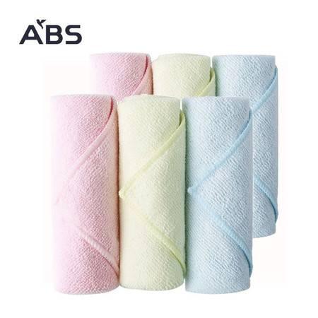 ABS爱彼此 Poppy波比超细纤维清洁布6条装