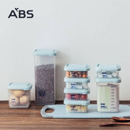 ABS爱彼此 Kenny分类多用储物罐(8件组)