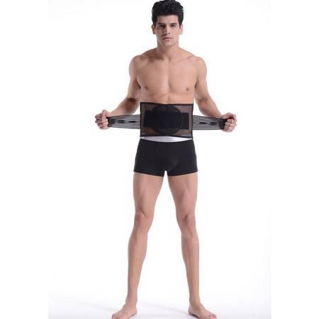 K四季新款保健护腰带透气舒适曲度钢板护腰带预防腰肌劳损