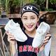 RZL09运动鞋女秋季新款软底系带透气网面学生跑鞋
