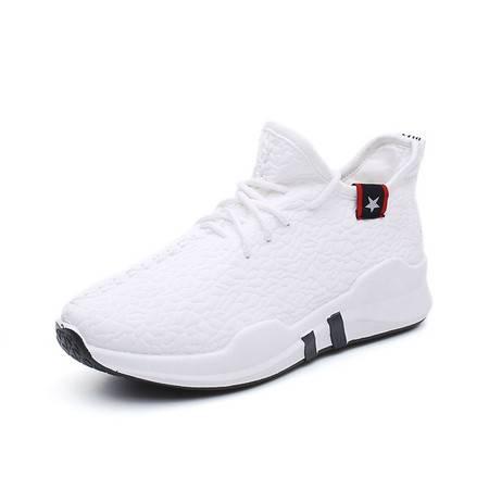 RZL20运动鞋女秋季新款韩版透气石头纹跑鞋软底学生鞋一脚蹬潮