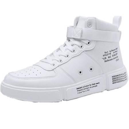 KA秋季ins超火的鞋子男运动休闲板鞋韩版潮流空军一号高帮百搭男鞋