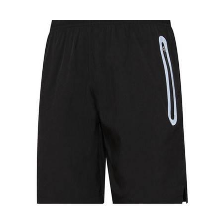 AS春夏男健身跑步短裤速干五分欧美梭织涤纶反光条运动短裤