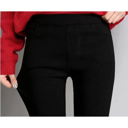 FX2019秋季新款女裤紧身魔术裤韩版高腰百搭铅笔裤大码打底裤女外穿