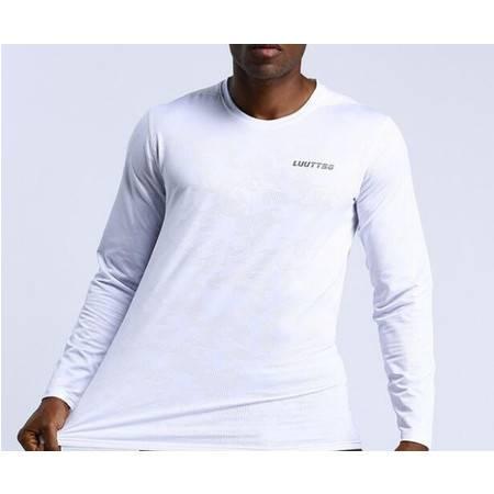 新款运动速干衣男长袖户外跑步休闲运动上衣篮球训练运动长袖