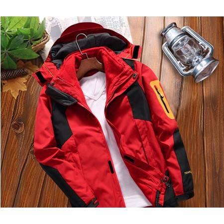 YH冲锋衣男女冬季户外三合一两件套滑雪服外套