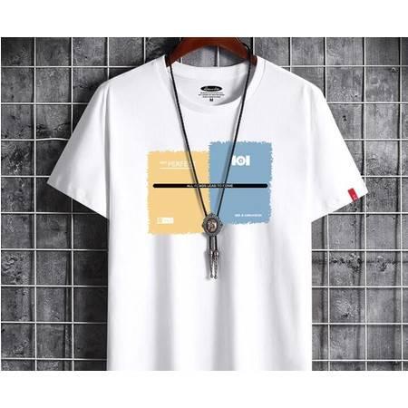 HC2020夏季新款 棉男士短袖t恤男圆领韩版男式打底衫