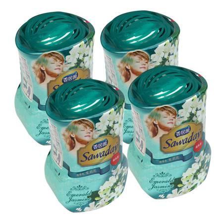 小林制药(KOBAYASHI) 居源(Sawaday)液体芳香剂 茉莉350ml*4瓶