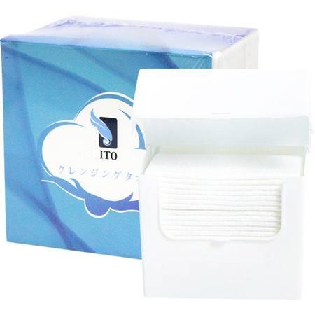 日本ITO洁面巾25抽盒装洗脸巾女全棉擦脸巾一次性时代棉柔巾