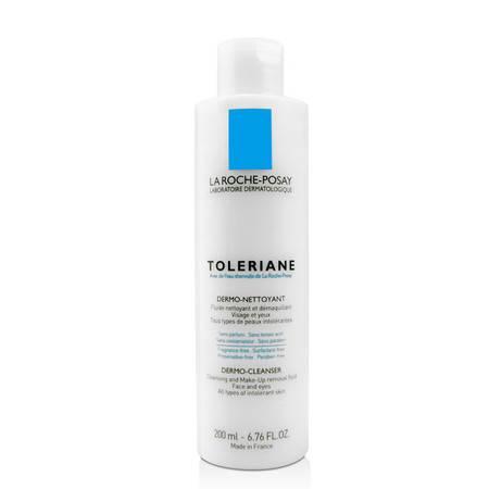 理肤泉 特安舒缓洁面乳200ml  温和深层清洁 可卸彩妆 敏感肌可用洗面奶
