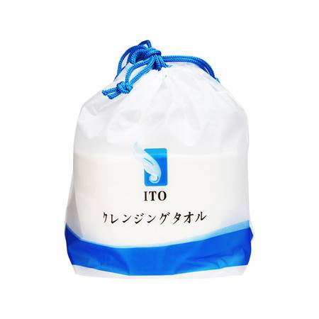 ITO  ITO桶装洗脸巾 80片 干湿两用  抽取式撕拉设计 柔软安心安全