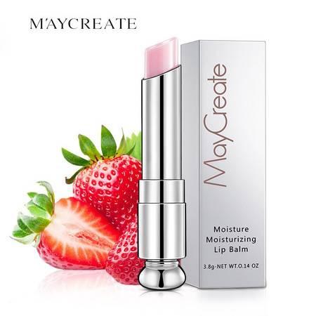 健美创研(MayCreate)滋润保湿润唇膏3.8g 湿滋润 修复唇纹